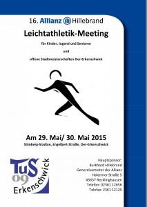 Plakat 16. Allianz Hillebrand 05-2015